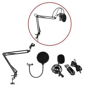 Music Studio Mic Micro Microphone Suspension Stand Support 1042