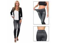 Trim 'N' Slim Jeans: Comfortable Slimming Shapewear Jeggings