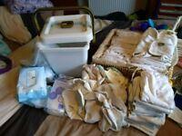 birth to potty reusable nappies full set