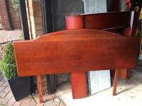 Headboard, king size, Stag, cherry wood