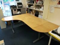 IKEA Galant Corner office desk - Very good condition, ideal for offices or home.