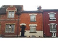 Fully furnished two bedroom flat with garden. Council tax included. NN1