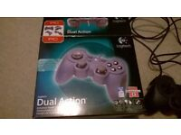 LOGITECH PC DUAL ACTION GAME CONTROLLER