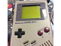 classic nintendo game boy original hand held games system