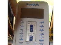 Reebok electric elliptical cross trainer