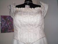 Wedding Dress Size 22 Sincerity Ivory Dress with detachable train