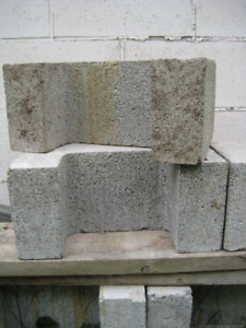 """C"" Shaped Cement Blocks"