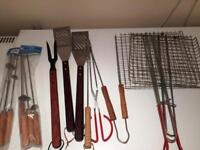 Barbecue equipment/ tools selection