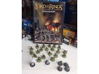 Games workshop lord of the rings dwarf figures and source book