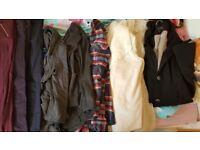 Ladies size 8 -10 clothes. Box full