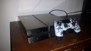 2014 PS4 Chrome decal 500GB + arctic controller