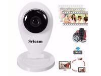 Ip camera720P Wifi CCTV Security microphone baby monitor(view via app!)
