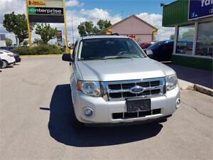 2008 Ford Escape XLT, LOW KM'S/FRESH SAFETY (ONLY TODAY) $7800