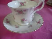 Vintage Cups and Saucers Ideal For Afternoon Teas, Weddings etc