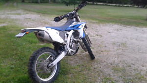 Blue papers!!! 2014 Yamaha WR 450F