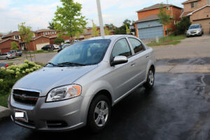 2011 Chevrolet Aveo LS Sedan only 58000 kms