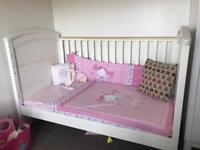 Mamas and papas white nursery furniture