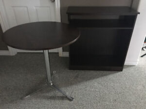 Table and tv stand