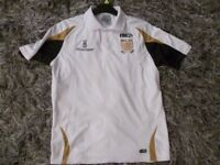 HULL FC POLO SHIRT NEW CONDITION