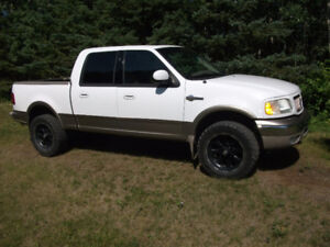 2003 Ford F-150 Super Crew King Ranch 4x4 LOOKS GREAT