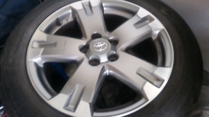 Toyota rims for rav 4    5 bolts 18 inch