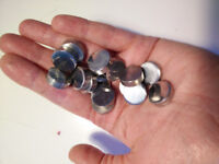 FREE: Small silver metal embellishments for furniture (?)