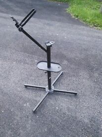 Clarke bike stand for servicing