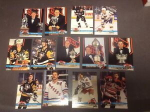 Cartes hockey Topps Members only 91-92 Roy Lemieux Gretzky