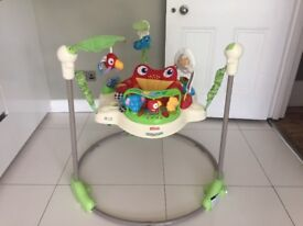Fisher Price Jumperoo Rain Forest. Great condition, all working and comes with original box.