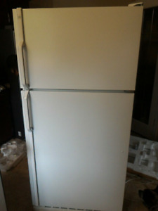 Older white fridge