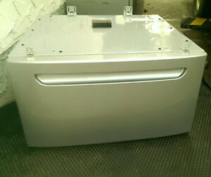PEDESTALS for washer dryer EUC Silver