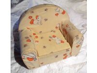 "Adorable ""easy chair"" for baby / toddler"