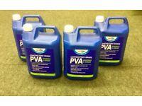 Contractors Grade PVA Adhesive & Sealer 5L