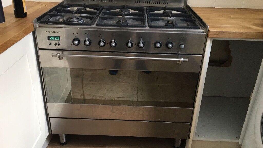 Range Cooker 90cm 6 Burner large oven