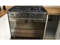 Range Cooker 90cm 6 Burner large oven