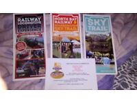 Attractions voucher for North bay railway Scarborough