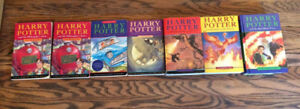 Harry Potter Books Set Good Condition