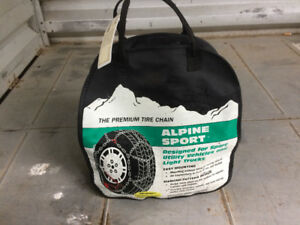 Tire chains for SUV and small trucks
