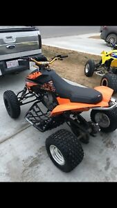 2009 KTM 525xc ATV