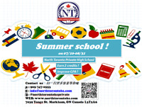 Grasp the last chance to learn and practice in summer school !