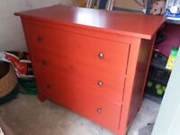 IKEA HEMNES chest of drawers- good condition