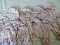 Girls 0-3 months, Bundle of Outdoor Coats