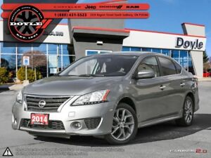 2014 Nissan Sentra 1.8 SR 1-OWNER TRADE-IN!!!