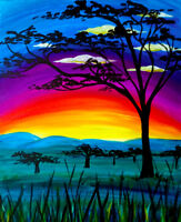 Paint Nite this Friday night at Legends Classic Grill