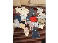 Baby clothes first size