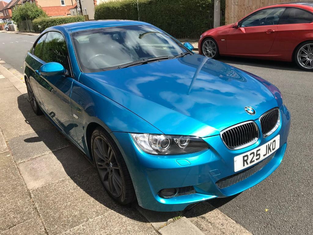 bmw 320i m sport coupe rare atlantis blue in stockton. Black Bedroom Furniture Sets. Home Design Ideas