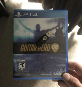 Guitar Hero Live  +  Guitar for PS4