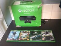 Xbox one 4 games exclent condition needs power brick only