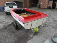 Speed Boat Project with Trailer