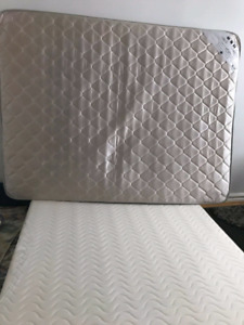 Matress bed with frame